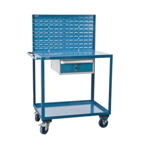 Mobile Service Cart - No. of Shelves: 2
