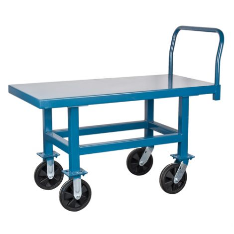 "Elevated Platform Trucks - Deck 30""W x 60""L - Capacity: 1000 lbs."