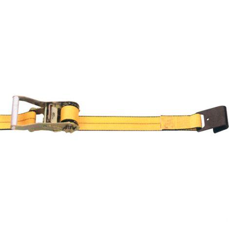 "Ratchet Straps - Type: Flat Hook - Width: 2"" - Length: 30' - Working Load Limit: 3335 lbs. (1512.73 kg)"