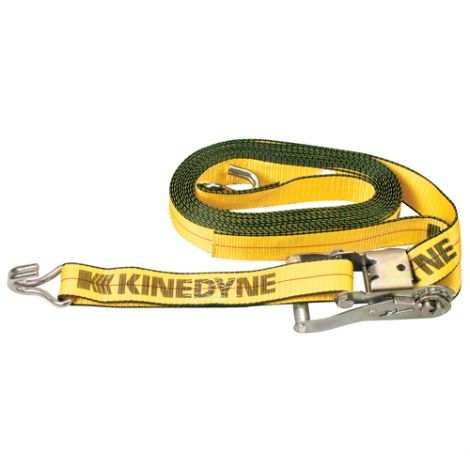 """Ratchet Straps - Type: Wire Hook - Width: 2"""" - Length: 30' - Working Load Limit: 1670 lbs. (757.5 kg)"""