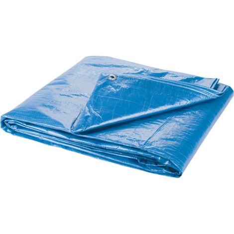 Polyethylene Tarpaulins - Dimensions: 8'W x 10'L - Qty/Case: 24
