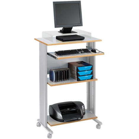 MUV™ Stand-Up Workstations - Grey