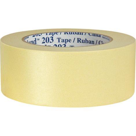 "Highland™ 203 Masking Tape - Width"": 48 mm (2"") - Qty/Case: 24"