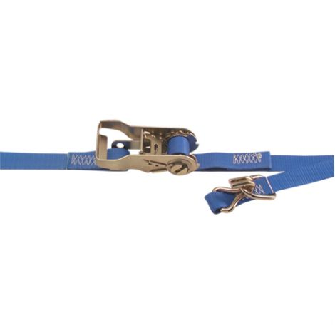 "1"" Heavy-Duty Utility Straps - Style: Ratchet - Length: 16' - Qty/Case: 8"