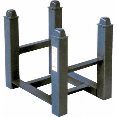 "Portable Stacking Racks - Width: 12"" - Depth: 16"" - Capacity: 2500 lbs."