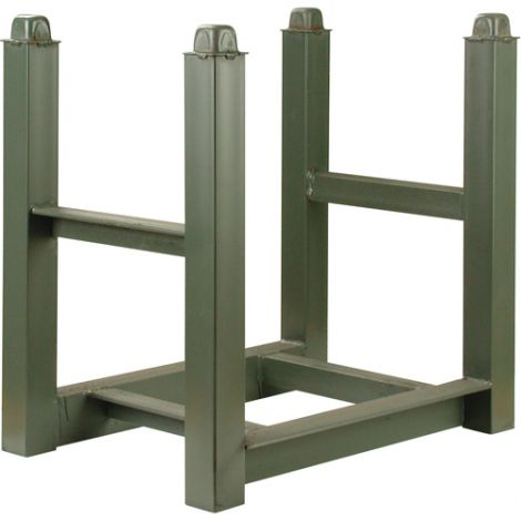 "Portable Stacking Racks - Width: 15"" - Depth: 22"" - Capacity: 5600 lbs."