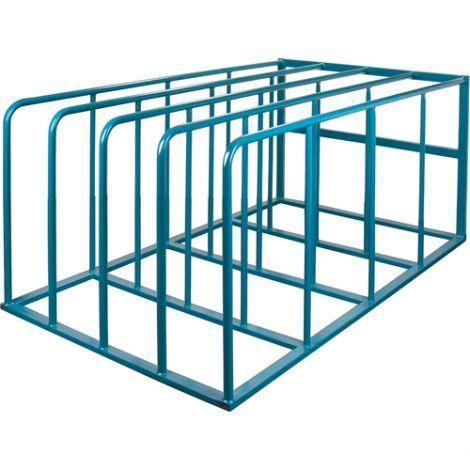 "Standard Vertical Sheet Racks - Height: 36-3/4"" - Width: 84"" - Depth: 50"" - Capacity: 4000 lbs."
