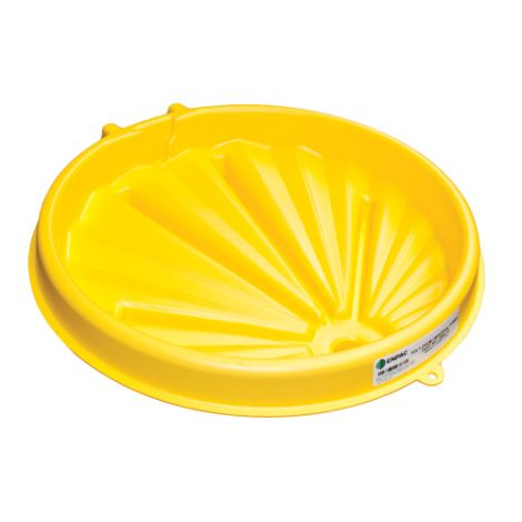 """Universal Poly-Drum Funnel™ - Exterior Dimensions: 26"""" Dia. x 5.25""""H"""