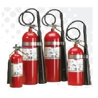 Aluminum Cylinder Carbon Dioxide (CO2) Fire Extinguishers - 20 lb w/Wall Hook
