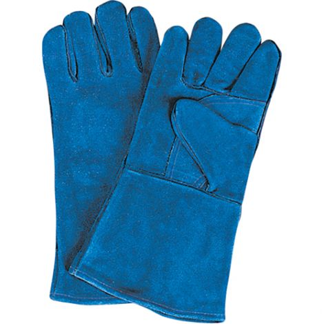 Outside Double Palm & Thumb Welder's Gloves - Size: Large - Qty: 24 Pairs