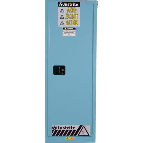 "Sure-Grip® Ex Acid/Corrosive Storage Cabinets - Capacity: 22 gal. - Width: 23.25"" - Depth: 18"" - Height: 65"""