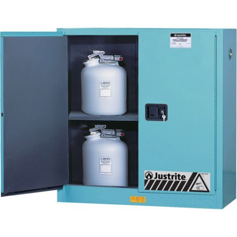 """ChemCor® Lined Acid/Corrosive Storage Cabinets - Capacity: 30 gal. - Width: 43"""" - Depth: 18"""" - Height: 44"""""""