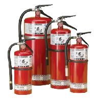 Steel Dry Chemical ABC Fire Extinguishers - Capacity: 20 lbs. - Rating: 10A:120BC