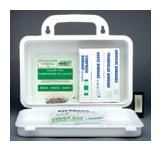 Ontario Regulation First Aid Kits - FIRST AID KIT: SEC. 8, 1 - 5 WORKERS - Container Type: 10-unit Metal
