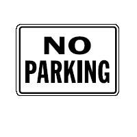 English Traffic Sign - Legend: No Parking