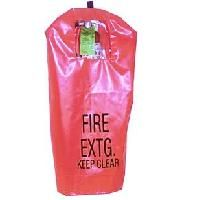Fire Extinguisher Covers - Bilingual w/window - Fits: 10 lbs.