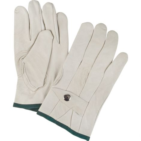 Grain Cowhide Ropers Gloves - Size: Medium - Case/Qty: 18