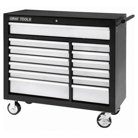 """Roller Cabinet - 13 Drawer - Overall Depth: 19"""" - Overall Width: 42"""""""