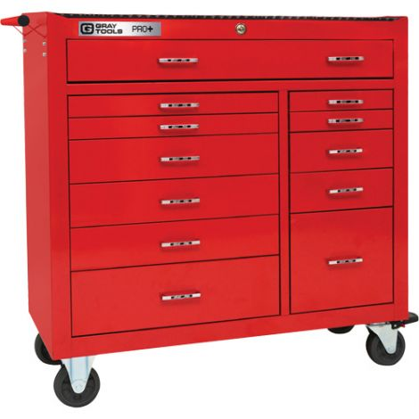 PRO+ Series Roller Cabinet - 12 Drawers