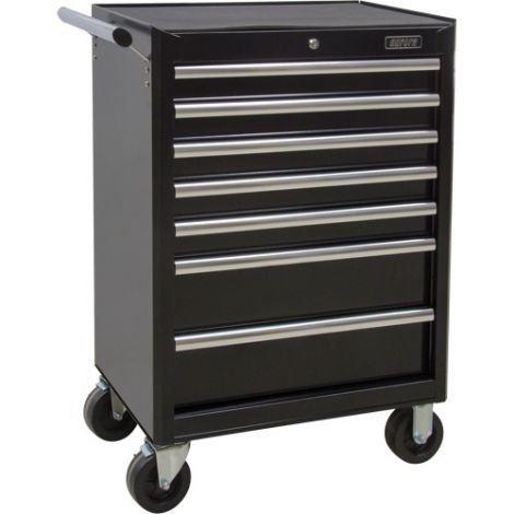 """Industrial Tool Cart - No. of Drawers: 7 - Overall Dimensions: 18-3/4""""D x 27""""W x 39""""H"""