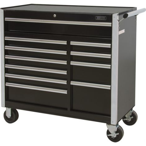 """Industrial Tool Cart - No. of Drawers: 11 - Overall Dimensions: 18-3/4""""D x 41""""W x 39-1/3""""H"""