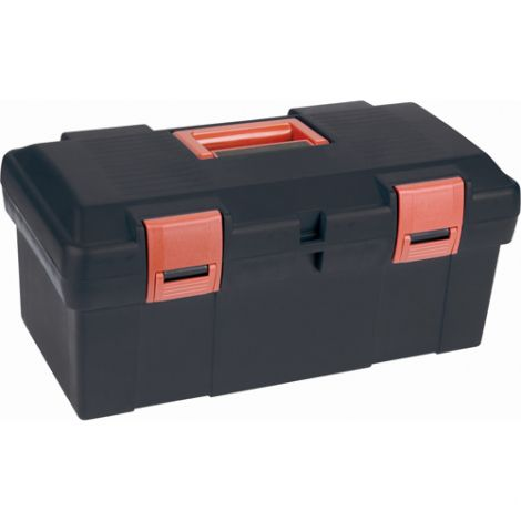 """Heavy-Duty Tool Boxes - Overall Depth: 9-1/2"""" - Overall Height: 8"""" - Overall Width: 17.5"""" - Case/Qty: 4"""