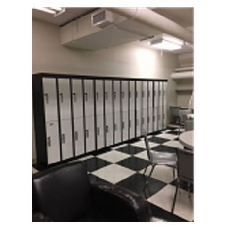 Used Double Tier Lockers - Basic Style
