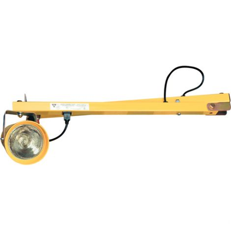 "Dock Lights - Arm Length: 60"" - Head Type: Polycarbonate"