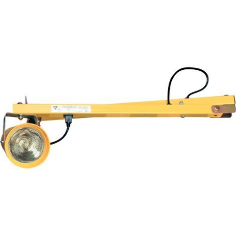 "Dock Lights - Arm Length: 60"" - Head Type: Metal"