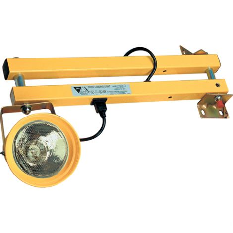 """Dock Lights - Extended Arm Length: 90"""" - Head Type: Polycarbonate"""