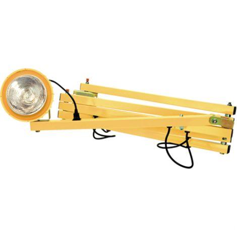 "Dock Light - Extended Arm Length: 90"" - Head Type: Metal"