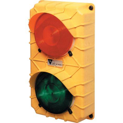 Led Stop & Go Light - 24 VDC - Stop & Go – w/flasher & switch