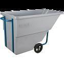 Kleton® Polyethylene Tilt Trucks - Volume Capacity: 5/8 cu.yd. - Durability: Standard Duty