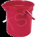 Brute® Buckets - Colour: Red - Capacity: 2.5 US Gallon (10 Quart)