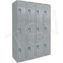 Assembled Clean Line™ Perforated Economy Lockers - Basic Style - Ships Free