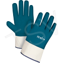Heavyweight Nitrile Coated Safety Cuff Gloves, Fully Coated - Size: X-Large (10) - Qty: 48