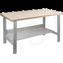 "Pre-designed Workbench - Configuration: Shelf - Height: 34"" - Width: 60"""