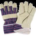 Grain Pigskin Fitters Cotton Fleece Lined Gloves - Size: Large - Case Quantity: 24