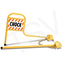 Rail Chocks - No. of Chocks: 2 - Rail Type: Flushed Rail