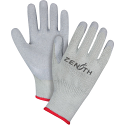 Natural Rubber Latex Palm Coated Fleece Lined Gloves - Size: 2X-Large (11) - Case Quantity: 120