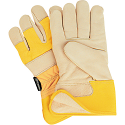 Thinsulate™ Lined Grain Cowhide Fitters Gloves, Premium - Size: Large - Case Quantity: 12
