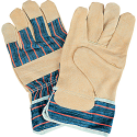 Split Pigskin Fitters Gloves - Size: Large - Lining: Cotton - Case Quantity: 72