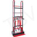 """Appliance Truck - Nose Plate Dimensions: 24""""W x 5""""D - Capacity: 850 lbs. - Overall Height: 66"""""""
