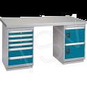 """Pre-Designed Workbench - Configuration: Door & Drawers - Height: 34"""" - Width: 60"""""""