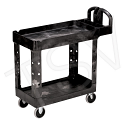 """Heavy Duty Utility Cart - Overall Dimensions: 17-1/8""""W x 39""""D x 38-1/4""""H"""