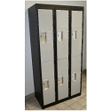 Premium Double Tier Lockers - Basic Style with Optional End Panel