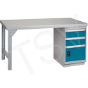 """Pre-designed Workbenches - Configuration: Drawers - Height: 34"""" - Width: 60"""""""