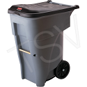 BRUTE® Roll Out Containers - Capacity: 65 US gal. - Grey