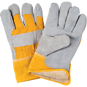Split Cowhide Fitters Acrylic Boa-Lined Gloves - Size: X-Large - Case Quantity: 24