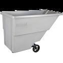 Kleton® Polyethylene Tilt Trucks - Volume Capacity: 5/8 cu.yd. - Durability: Light Duty